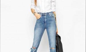 С чем лучше всего носить джинсы boyfriend?