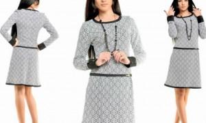 Где выбрать женское трикотажное платье?