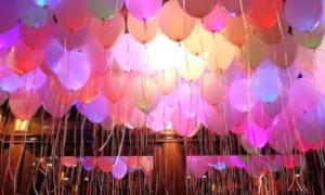 Светящиеся шары в Москве
