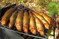 Способы копчения рыбы