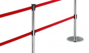 Зачем нужна стойка с вытяжной лентой?