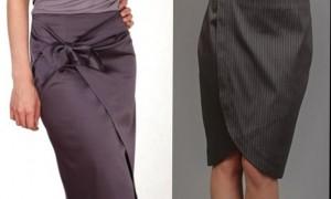 Что такое юбка с запахом?