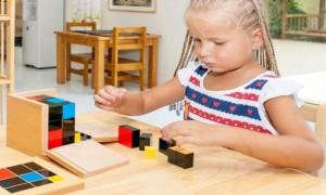 Про раннее развитие детей по системе Монтессори