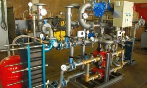 Как выполняется проектирование тепловых пунктов?